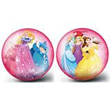 """Мяч 23 см """"Принцессы"""" розовый 82303"""