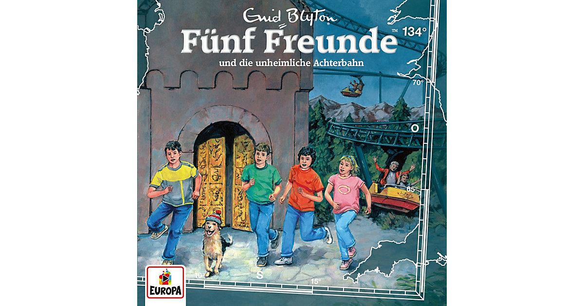 CD Fünf Freunde 134 - und die unheimliche Achterbahn Hörbuch