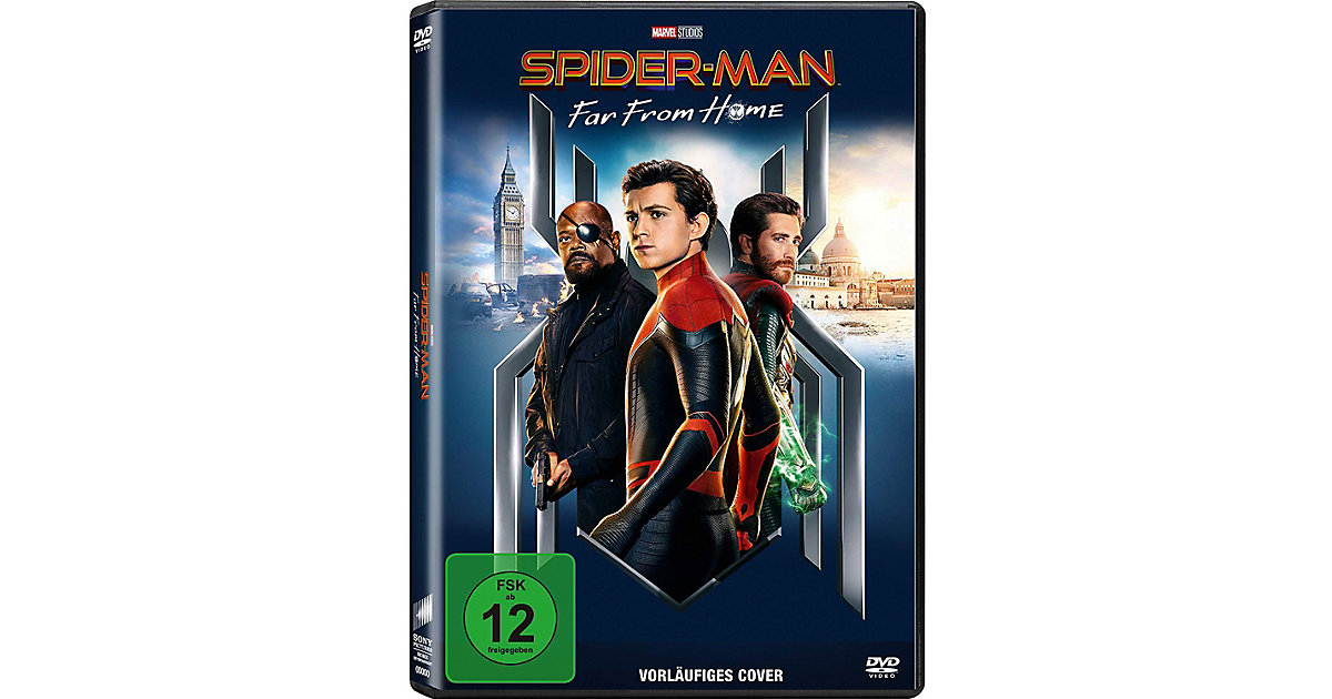 DVD Spiderman - Far From Home Hörbuch