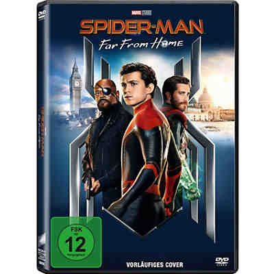 DVD Spiderman - Far From Home
