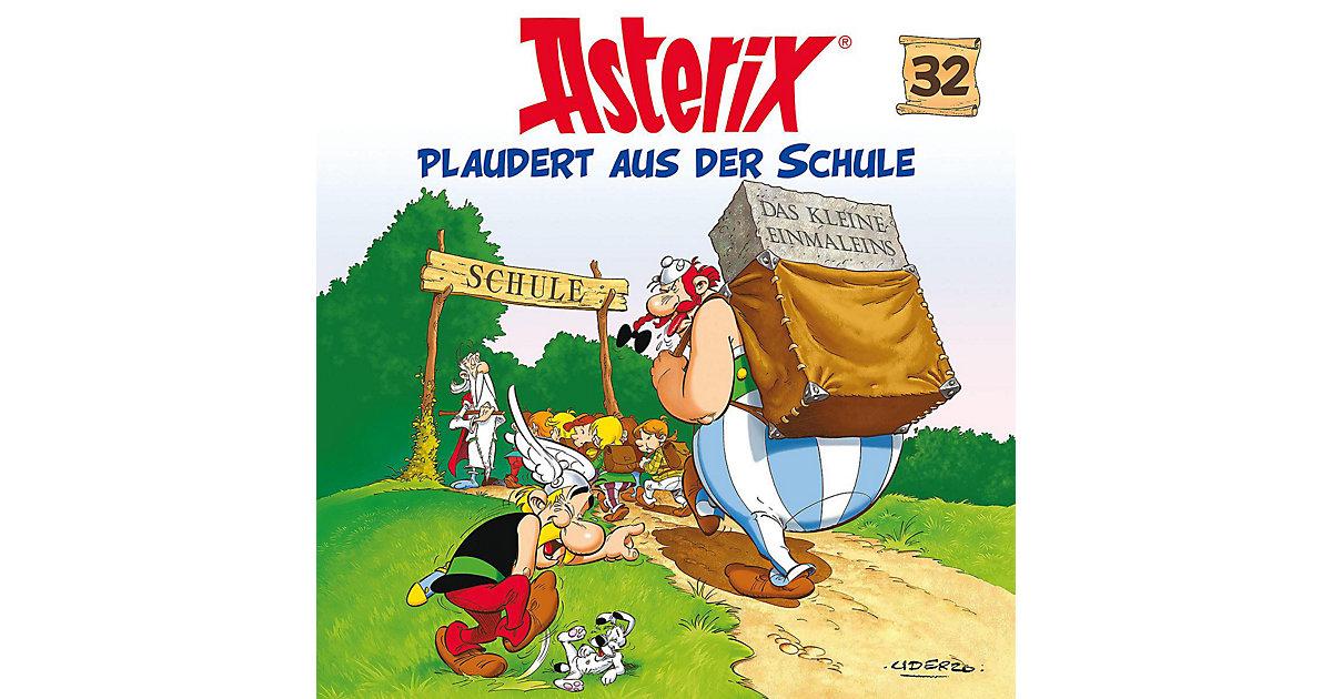 CD Asterix plaudert aus der Schule Hörbuch