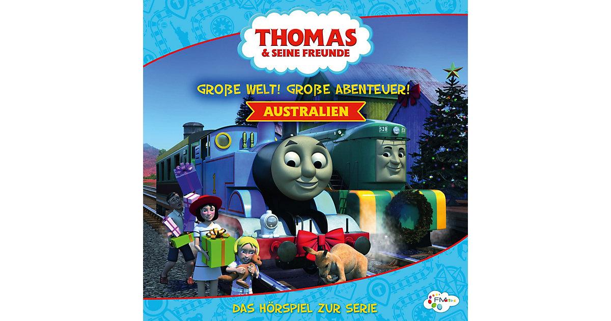 CD Thomas & seine Freunde  - Australien - Große Welt! Große Abenteuer Hörbuch