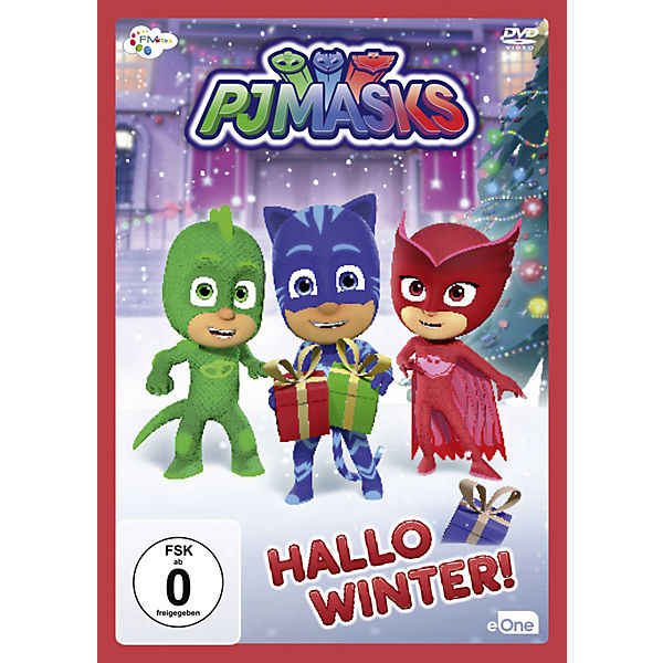CD PJ Masks  - Hallo Winter!
