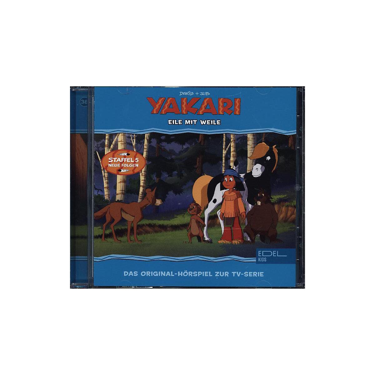 CD Yakari 38 - Eile mit Weile YAKARI gV8NB