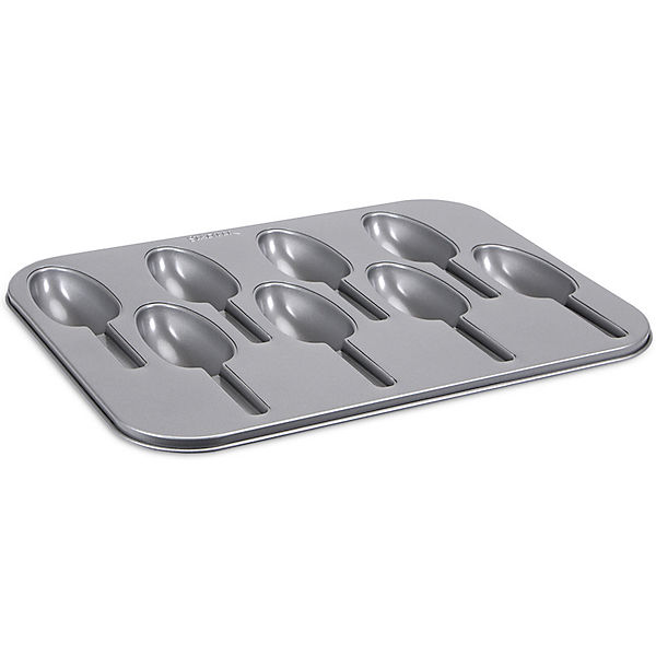 WE-LOVE-BAKING Cake Lollies ca. 35 x 27 cm Silber