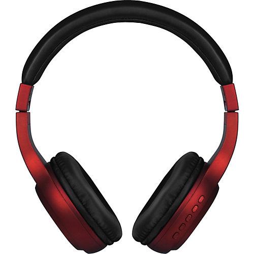 Наушники Nobby Comfort, с mp3 плеером, красные