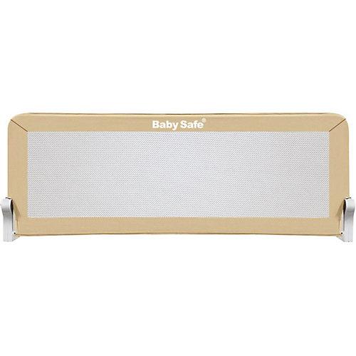 Барьер для кроватки Baby Safe, 120х66 см, бежевый от Baby Safe