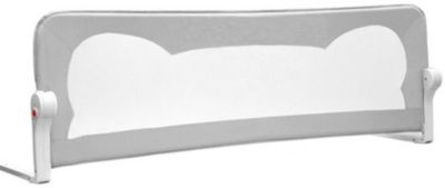 Барьер для кроватки Baby Safe Ушки, 120х42 см, серый