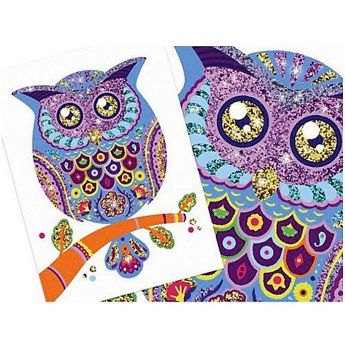 Набор для создания картин с блёстками Djeco Блестящие животные от DJECO
