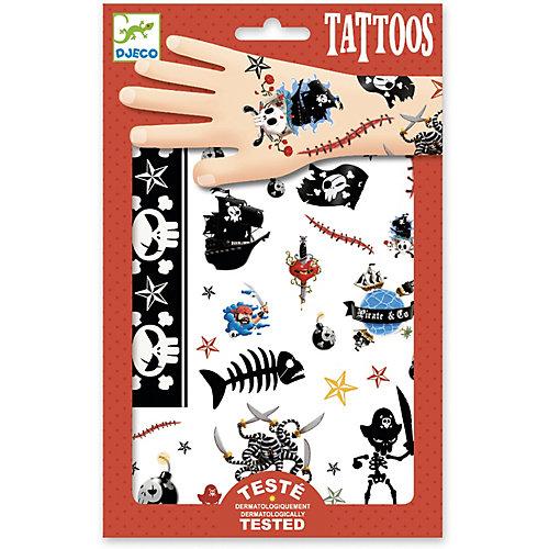 Набор татуировок Djeco Пираты от DJECO