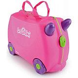 Чемодан на колесиках Trunki Trixie, розовый