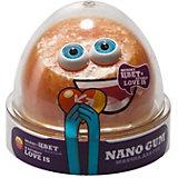 Жвачка для рук Nano Gum Love Is жёлто-оранжевая, 50 г