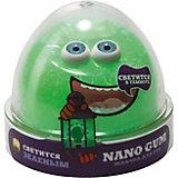 Жвачка для рук Nano Gum Светится в темноте зелёным, 50 г
