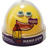 Жвачка для рук Nano Gum Светится в темноте жёлтым, 50 г