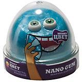 Жвачка для рук Nano Gum серебристо-голубая, 50 г