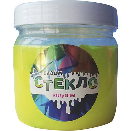 Слайм Party Slime, желтый неон от Стекло