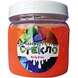 Слайм Party Slime, оранжевый неон