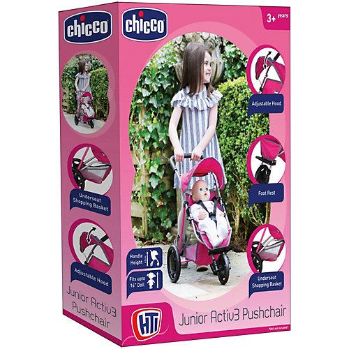 Трехколесная коляска для кукол Chicco от HTI