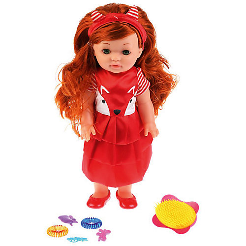 Интерактивная кукла Карапуз Лиза от Карапуз