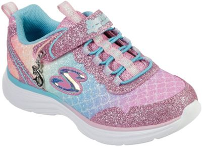 Sneakers Low Glimmer Kicks Sea Sparkle für Mädchen, SKECHERS