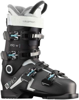 Ski Schuhe SPRO R90 W Belluga MBLACKS, Salomon