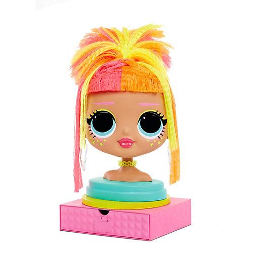 Голова для моделирования причесок LOL Surprise! с аксессуарами от MGA