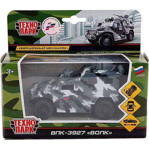 Машинка Технопарк ВПК 3927 Волк от ТЕХНОПАРК