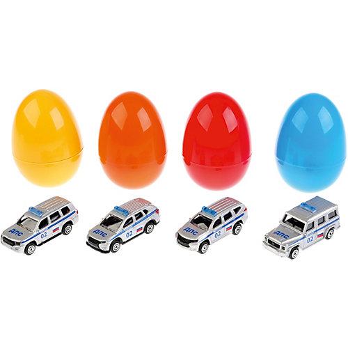 Машинка Технопарк Джип Полиция, в яйце от ТЕХНОПАРК