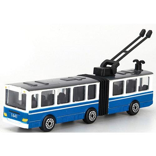 Троллейбус Технопарк, с резинкой от ТЕХНОПАРК
