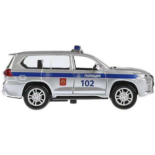 Машинка Технопарк Lexus LX-570 Полиция от ТЕХНОПАРК