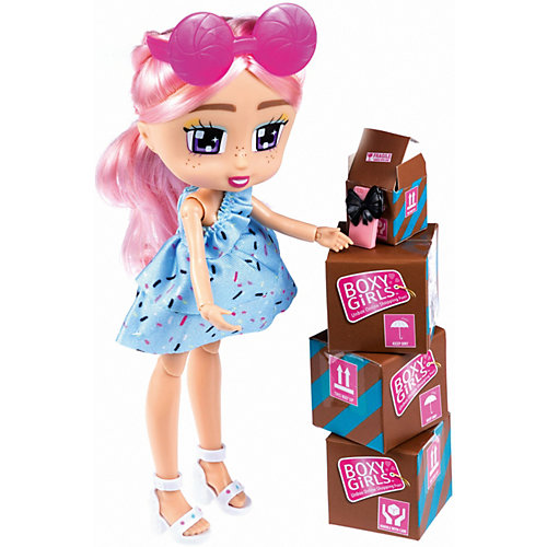 Кукла 1Toy Boxy Girls Kiki с аксессуарами, 20 см от 1Toy