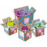 Игровой набор 1Toy Boxy Girls 4 посылки с сюрпризами для кукол