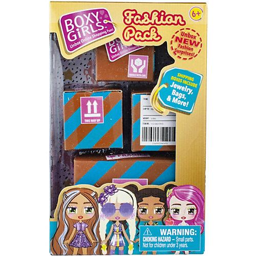 Игровой набор 1Toy Boxy Girls 4 посылки с сюрпризами для кукол от 1Toy