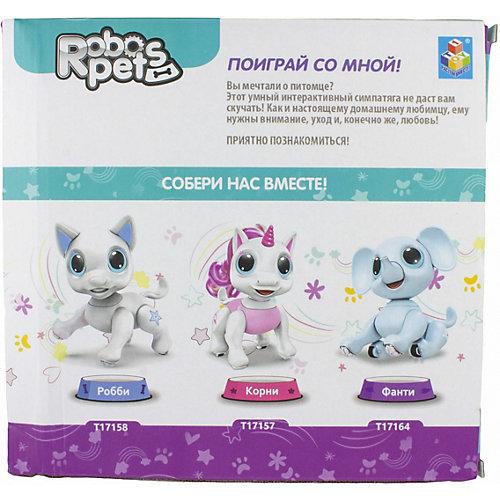 Интерактивная игрушка 1Toy Robo Pets Единорог Корни от 1Toy