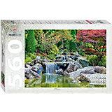 """Мозаика """"puzzle"""" 560 """"Каскадный водопад в японском саду"""""""