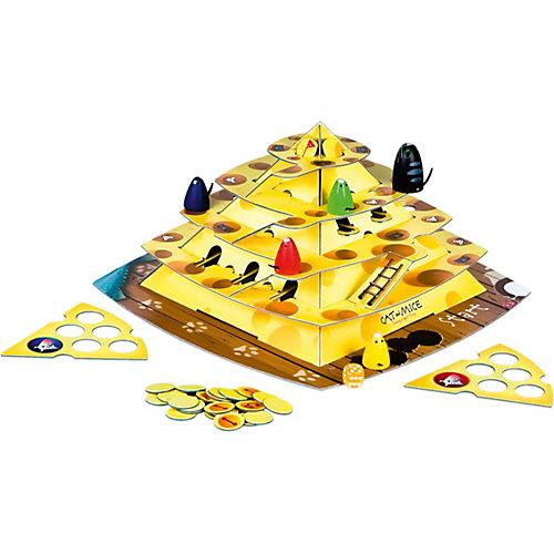 """Настольная игра """"Кошки-мышки. Ловушки сырной пирамиды"""" от Степ Пазл"""