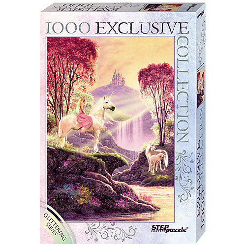 "Пазл «Волшебная долина"" Глиттер-коллекция, 1000 эл от Степ Пазл"
