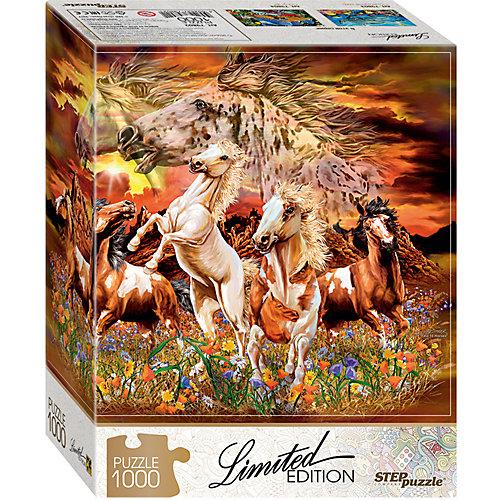 """Мозаика """"puzzle"""" 1000 """"Найди 16 лошадей"""" (Limited Edition) от Степ Пазл"""
