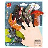 """Пальчиковый театр Finger Puppets """"Динозавры"""", 5 шт"""