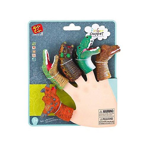 """Пальчиковый театр Finger Puppets """"Динозавры"""", 5 шт от Finger Puppets"""