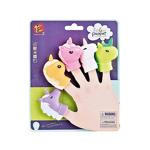 """Пальчиковый театр Finger Puppets """"Единорог"""", 5 шт от Finger Puppets"""