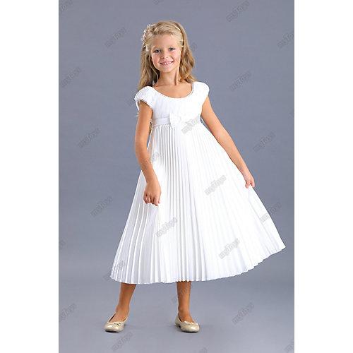Нарядное платье Маленькая леди - белый от Маленькая Леди