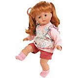 "Кукла мягконабивная Schildkroet ""Ханна рыжая"", 36 см"