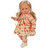 """Кукла мягконабивная Schildkroet """"Ханна блондинка"""", 36 см"""