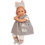 """Кукла мягконабивная Schildkroet """"Кареглазая девочка"""", 30 см"""