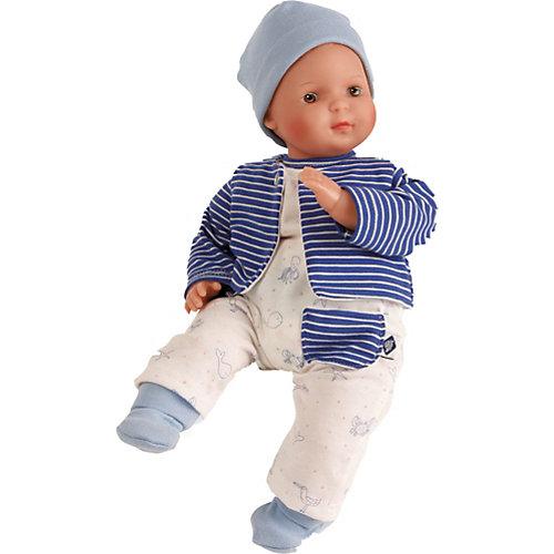 """Кукла мягконабивная Schildkroet """"Кареглазый мальчик"""", 30 см от Schildkröt"""