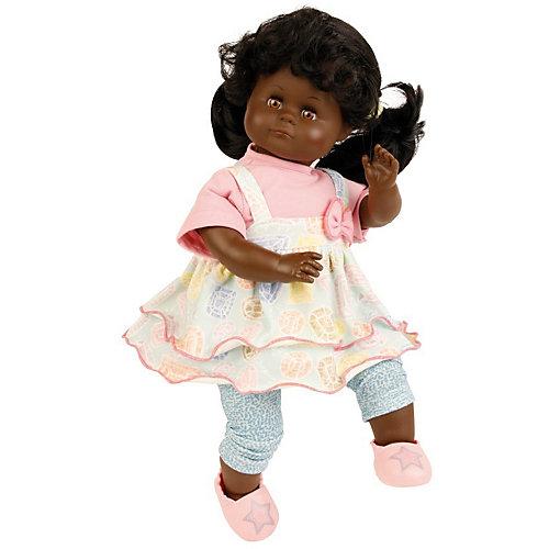 """Кукла мягконабивная Schildkroet """"Санни темнокожая"""", 37 см от Schildkröt"""