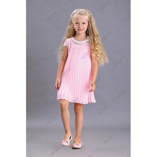 Нарядное платье Маленькая леди - розовый от Маленькая Леди
