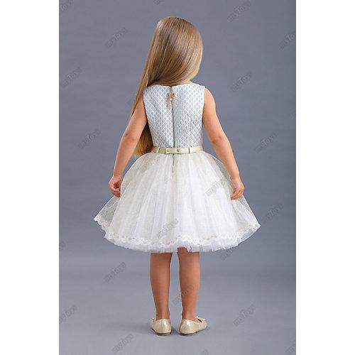 Нарядное платье Маленькая леди - голубой от Маленькая Леди