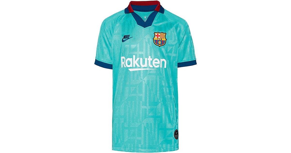 Nike Sportswear Fußballtrikot FC Barcelona 19/20 3rd Trikots grün Gr. 164   Sportbekleidung > Trikots > Sonstige Trikots   Nike Sportswear